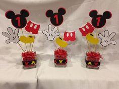 Mickey Mouse Centerpiece by MemoriesMadebyCJ on Etsy, $12.00