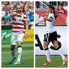 Love these two! USA Soccer
