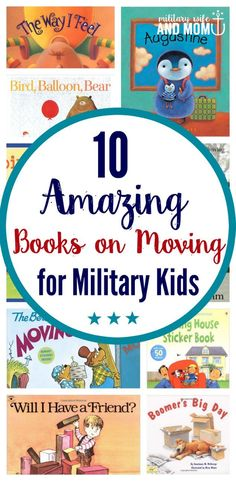 10 Books That Will Help Military Kids Prepare for Their Next PCS Move Help military kids cope with their next PCS move through books and storytelling. This list of moving books for military kids can help them prepare, process and understand. via Lauren Military Deployment, Military Spouse, Military Blogs, Military Families, Army Life, Marine Life, Kids Moves, Parenting Books, Good Books