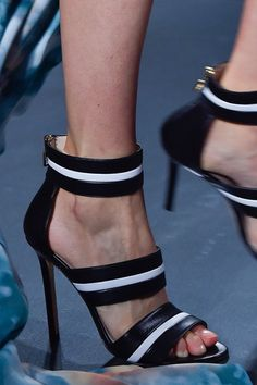 Elie Saab at Paris Spring 2015 | shoes ( booties )
