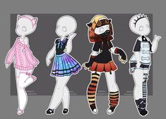 outfits deviantart - Google Search