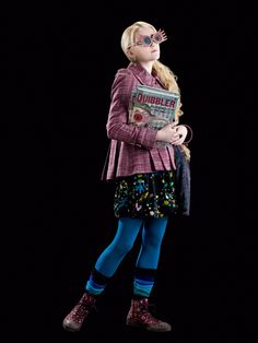 Who I am being for Halloween ~ Luna Lovegood