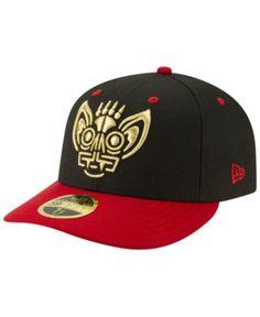 032a24dd2 New Era Louisville Bats Copa de la Diversion Low Profile 59FIFTY Fitted Cap  - Black Red 6 7 8