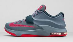competitive price c3eac b0907 Nike KD7 Calm Before The Storm Grey Hyper Punch Light Grey Nike Zoom,