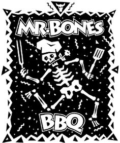 Mr Bones Barbeque on Anna Maria Island, Fla. Great, funky place, with beer chilled in a coffin!?!?!