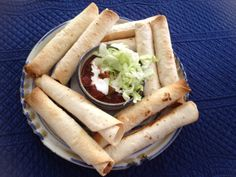 Bake up a batch of homemade Taquitos and feed your family, fast!
