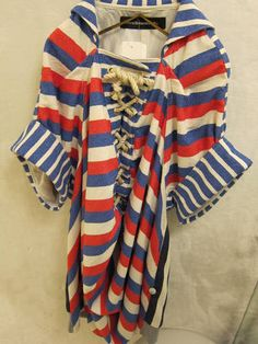 #stripes Red White Blue, Blue Lace, Lace Up, Color Stories, Bees, Anchor, Butterflies, Nautical, Kimono Top