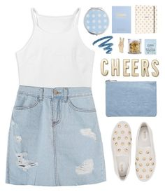 """Cheers"" by amazing-abby ❤ liked on Polyvore featuring MICHAEL Michael Kors, Kate Spade, Miss Selfridge, kikki.K, The Gypsy Shrine, Starskin, Lucky Brand and Yves Saint Laurent"