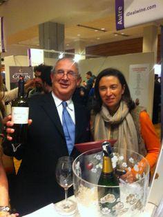 """Michel Bettane est un fan inconditionnel de ce qu'il appelle """"les vieux rivesaltes des familles"""" qu'iDealwine déniche régulièrement pour ses clients. (En l'occurence, ici, il s'agit d'un banyuls mais on reste dans la même famille des VDN) #grandtasting #wine"""