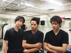 Hanyu, Daiskue, and Takahiko. ^_^