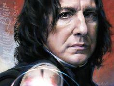 Alan Rickman as Severus Snape | 6822667098_11090c9ae4_z.jpg