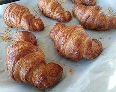 I don't bake croissants very often.), but because I am always trying out new recipes for our cooking school, and with just two o… Bake Croissants, Savory Tart, Cooking School, New Recipes, Bakery, Pork, Bread, Tarts, Kale Stir Fry