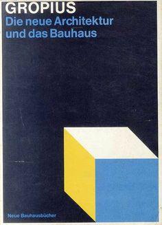 ニューバウハウス叢書 新しいアーキテクチャとバウハウス Neue Bauhausbucher: Die neue Architektur und das Bauhaus Walter Gropiusk(ウォルター・グロピウス) 1965年/Bei Florian Kupferberg 独語版 カバー破れ ¥5,000