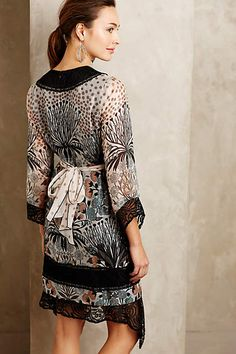 Laced Ikebana Dress - anthropologie.com - it's actually cuter from the front.