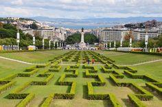 Parc Eduardo VII - Lisbonne - Portugal