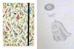 Cuadernos artesanales y con mucho diseño - Living - ESPACIO LIVING