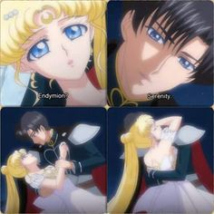 Prince Endymion & Princess Serenity from Sailor Moon Crystal