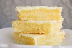 """Lemon Bar """"Brownies"""""""