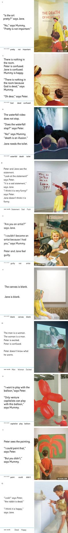 Jane and Peter Learn New Words