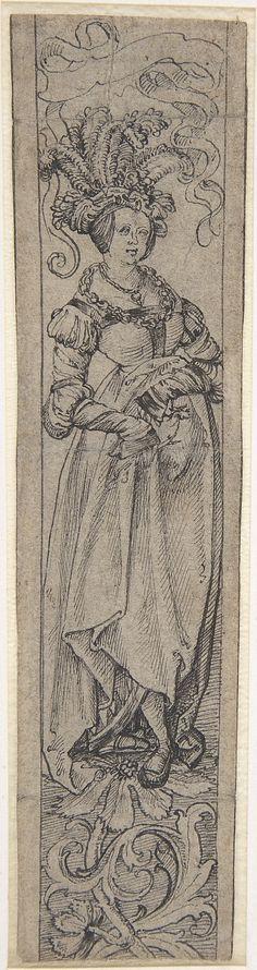 Standing Woman  Circle of Lucas Cranach the Elder (German, Kronach 1472–1553 Weimar)
