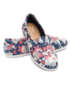 Loving this Navy & Pink Tropical Classics