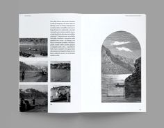 "Monograph ‒ ""A Rua do Burgo de Entre-os-Rios"" on Editorial Design Served"