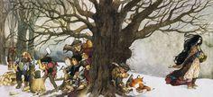 'Snow White' illustrated by Trina Schart Hyman