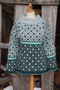 Gloá sweater grøn - Brogaard Isheste og Strik