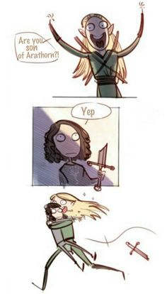 Legolas after The Battle of the Five Armies<<<<Oh my gosh!! This made me laugh SO hard!!!==>YES