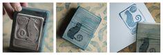 Karolina-G / stempel - ex libris / stamp - ex libris