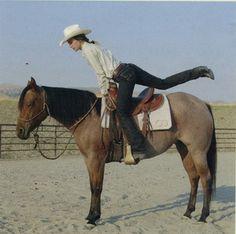 AQHA: Horse Training: No-Go Mounting
