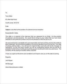 Uk business letter format letter pinterest business letter letter of employment offer accmission Gallery