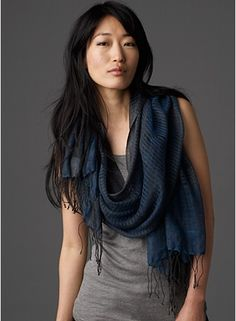 scarf, wool - eileen fisher
