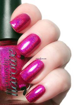 xoxoJen's swatch of Colors by Llarowe - Sparkles are a Girl's Best Friend PENDING Holo Nail Polish, Holographic Nail Polish, Finger Nail Art, Great Nails, Nail Envy, Beautiful Nail Art, Holiday Nails, Toe Nails, How To Do Nails