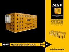 High Level Security Containers Grade 6 12 MSV Mobile Security