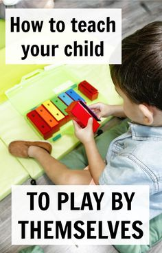 Great read for moms who want to teach their children to play by themselves. Independent play is a huge blessing in our home and can be in your home too. Here are my best tips to get started.