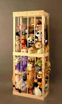 Stuffed animal storage..ryry needs this
