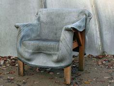 Открываем дачный сезон. Мягкая мебель из бетона и креативные скульптуры из цемента | Ярмарка Мастеров - ручная работа, handmade