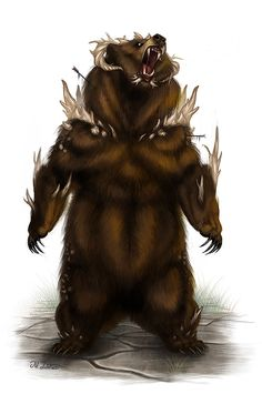 Bestiary: Dire Bear on Behance