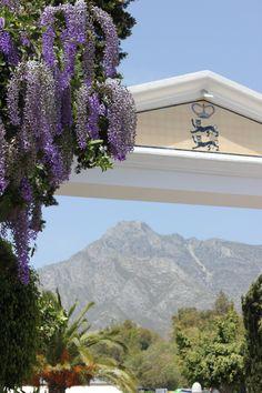 Marbella Club Hotel, #Spain - Our Entrance