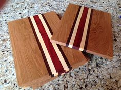A hade made wooden cutting board by TIMberCrafts123 on Etsy, $40.00