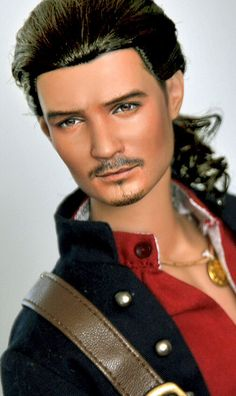 """DOLLS FAMOSE - ORLANDO BLOOM IN """"PIRATES OF THE CARIBBEAN"""""""