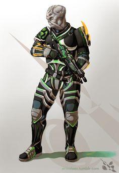Batarian Soldier