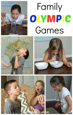 Turn Game Night into Family Olympics!!!