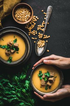 Pea Soup, Ramen, Food And Drink, Cooking, Ethnic Recipes, Soups, Indian, Bar, Table