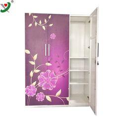 Bedroom Closet Design, Bedroom Decor, Best Wardrobe Designs, Steel Wardrobe, Tall Cabinet Storage, Locker Storage, Almirah Designs, Smart Door Locks, Home Goods Decor