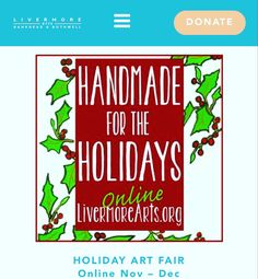 Livermore Arts Holiday Shopping Julie Gordon, Art Fair, Online Art Gallery, Holiday, Shopping, Vacations, Holidays, Vacation, Annual Leave