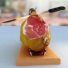Jamon Serrano!, no siempre se podía comprar...beautiful food photo art... if you are a cook that appreciates food from around the world...