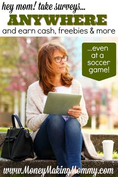 How do I snag a free Starbucks coffee here and there or extra spending money? I take surveys. And though some surveys are pure hype and should be avoided -- there are many that really do pay. I take my tablet or phone with me everywhere - so why wouldn't I use that time to make a little moola too! MoneyMakingMommy.com.
