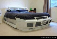Mitsubishi Evolution 3.. Sport Bed OMG!!!!! I WANT THIS BED!